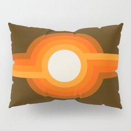 Golden Sunspot Pillow Sham