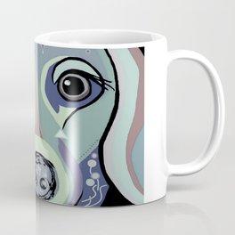 Dachshund in Denim Colors Coffee Mug