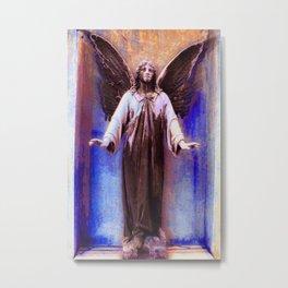 Standing Angel Metal Print