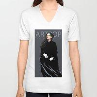 artpop V-neck T-shirts featuring Artpop by Annike