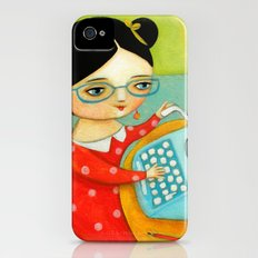The writer of stories Slim Case iPhone (4, 4s)