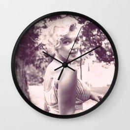 M.M. Wall Clock