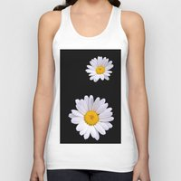 daisy Tank Tops featuring Daisy  by Cozmic Photos
