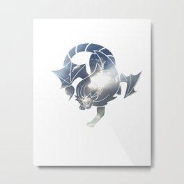 Cloud Manticore Metal Print