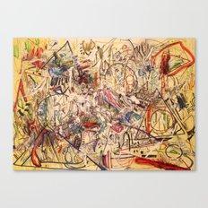 Experimental Rush Canvas Print