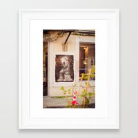 reading Framed Art Prints featuring Reading by Sébastien BOUVIER