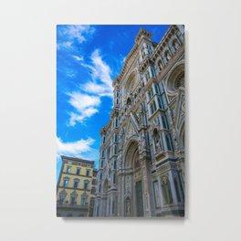 Entrance To The Duomo di Firenze Metal Print