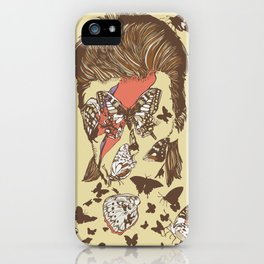 FACES OF GLAM ROCK iPhone Case