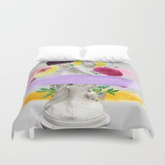 The Witch in the Museum Duvet Cover