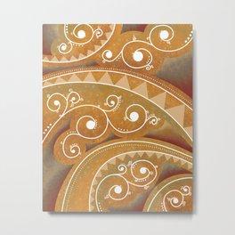 Spiral 3 Metal Print
