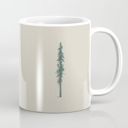 Love in the forest - tan Coffee Mug