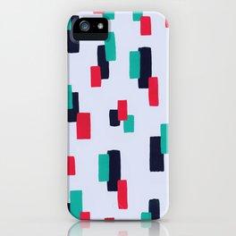 spring stripes iPhone Case