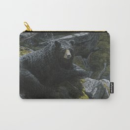 Deep in the Woods - Black Bear Carry-All Pouch