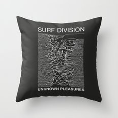 SURF DIVISION Throw Pillow