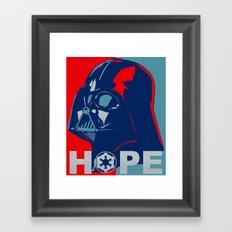 Darth Vader 2016 Framed Art Print