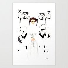 Star Princess Art Print