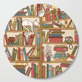 Bookshelf No. 1 Cutting Board