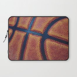 Basketball close-up Laptop Sleeve