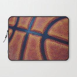Basketball close-up Laptop Sleeve