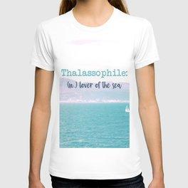 Thalassophile T-shirt