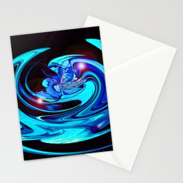 """Cut Blue Diamond""  Stationery Cards"