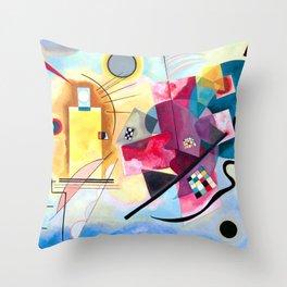 Wassily Kandinsky - Yellow Red Blue Throw Pillow