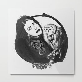 Familiar Metal Print