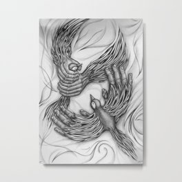 Helpless Metal Print