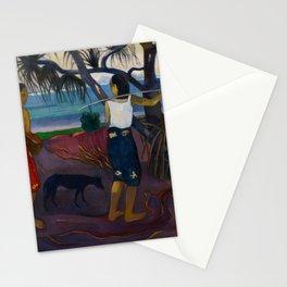 Paul Gauguin - (Under the Pandanus) I Raro Te Oviri (1891) Stationery Cards