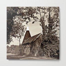 Oast House Metal Print