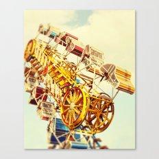 Vintage Carnival Canvas Print