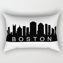 Boston skyline Rectangular Pillow