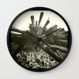 rust / rouille Wall Clock
