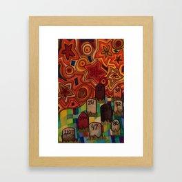 Mile 002 Framed Art Print