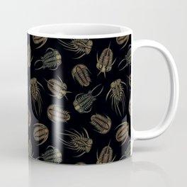 Trilobites - Marine Fossil Pattern Coffee Mug