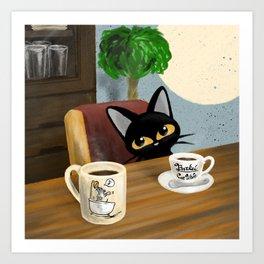 Cute Visitor Art Print