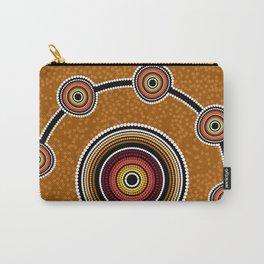 Australia Aboriginal art Carry-All Pouch