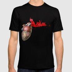 Broken Heart - Fig. 4 Mens Fitted Tee Black MEDIUM