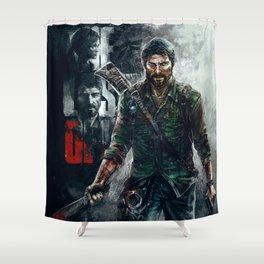 Joel - The Last of Us Shower Curtain