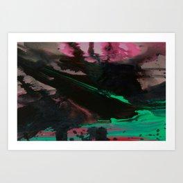 Wet paint 4 Art Print