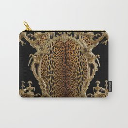 Leopard Chinoise Carry-All Pouch
