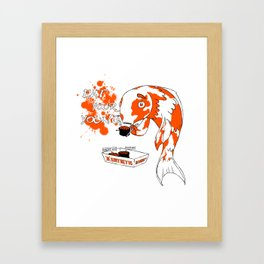 Eat Your Young: Fish Framed Art Print