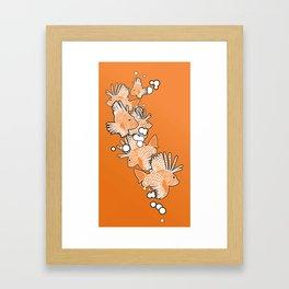 Scorpio fish Framed Art Print