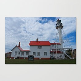 Whitefish Point Lighthouse I Canvas Print