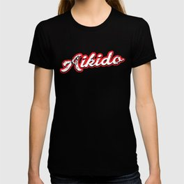 aikido - vintage & distressed T-shirt