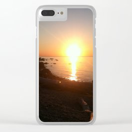 Beachside Twilight Clear iPhone Case
