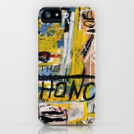 Winter Honor iPhone Case