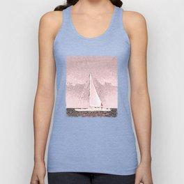 """Sailboat #8"" Art of the Sea by Murray Bolesta Unisex Tank Top"
