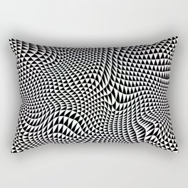 TESSELATION ABYSS Rectangular Pillow