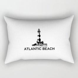 Atlantic Beach - North Carolina. Rectangular Pillow